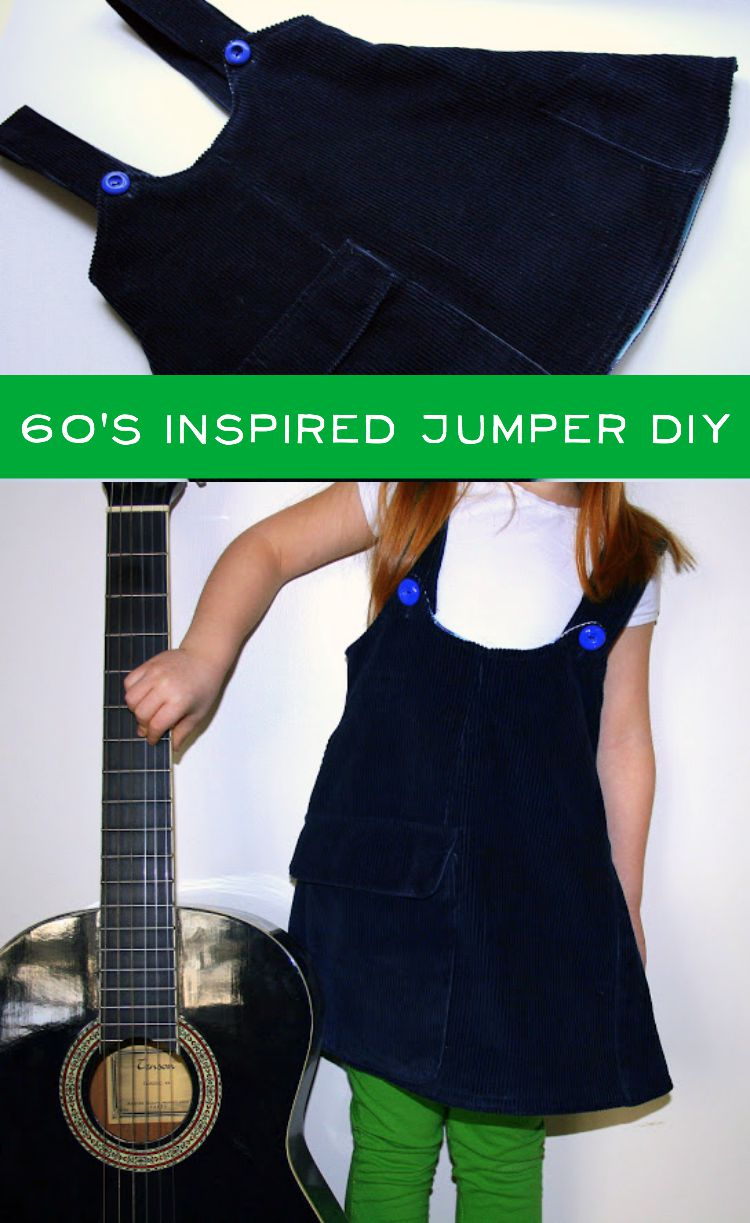 60s jumper DIY