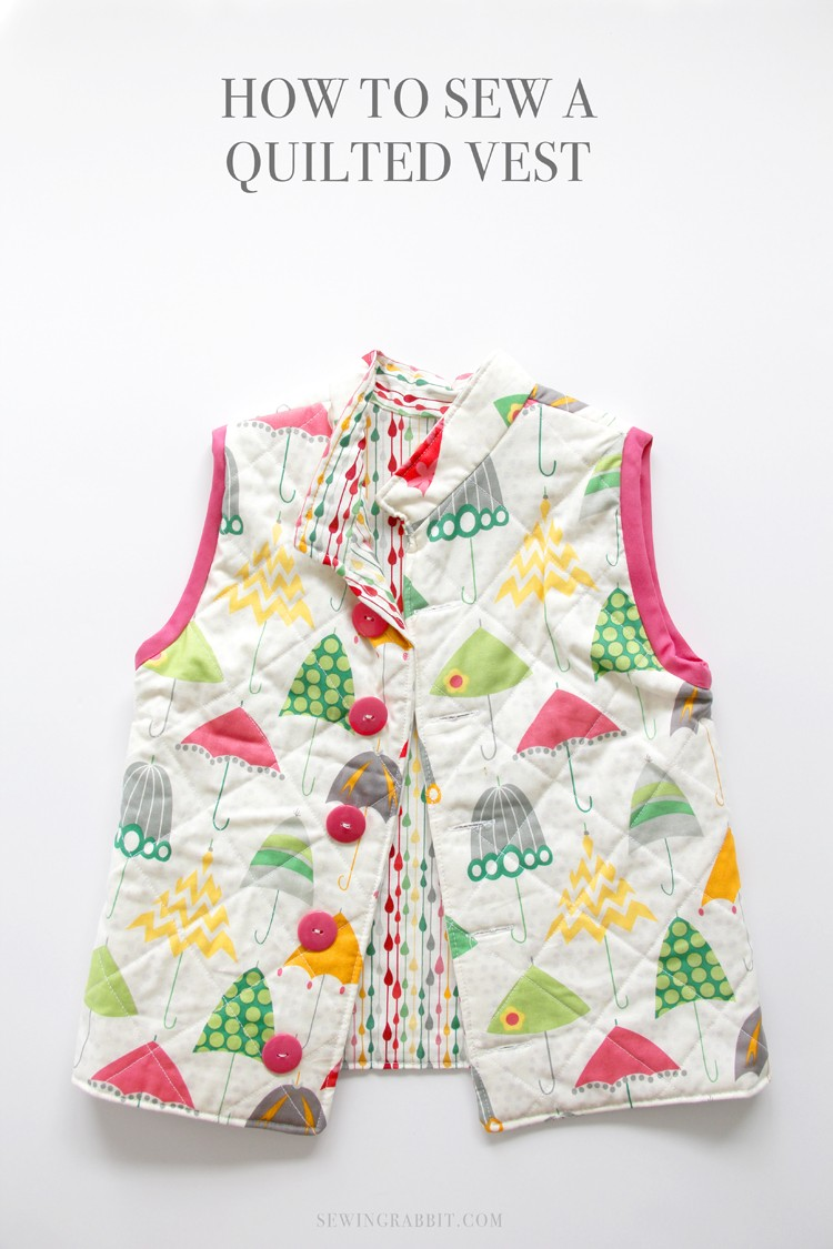 How to sew a quilted vest