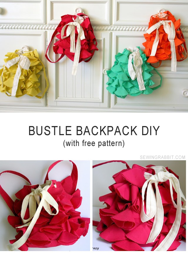 Bustle Backpack DIY - with Free Pattern