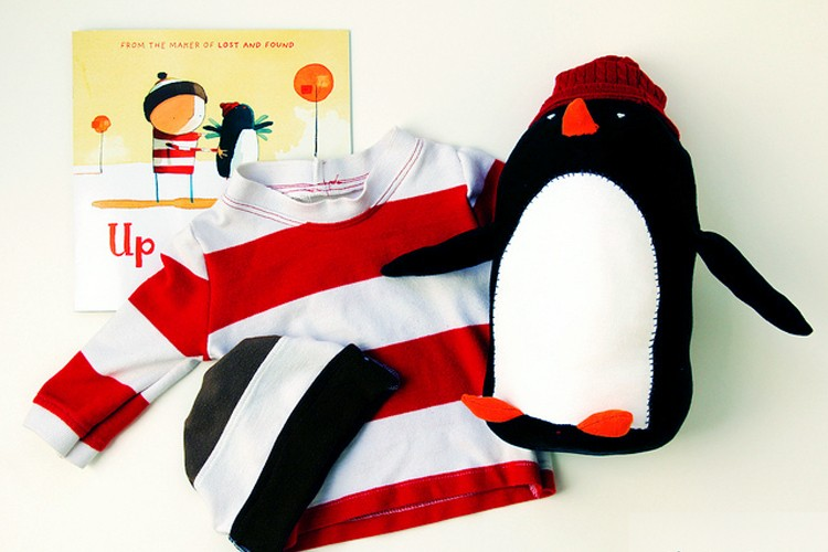 Up & Down Penguin {free pattern}