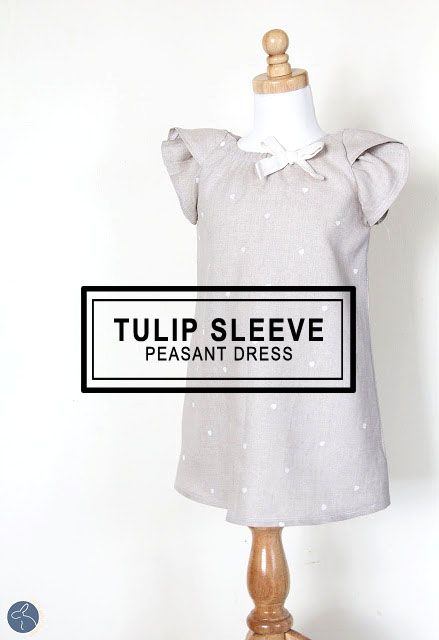 Tulip Sleeve Peasant Dress DIY