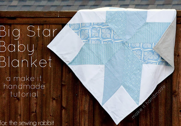 Big Star Baby Blanket - DIY