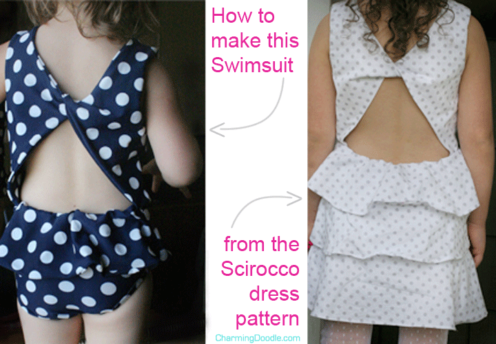 DIY Bathing Suit from the Scirocco Pattern