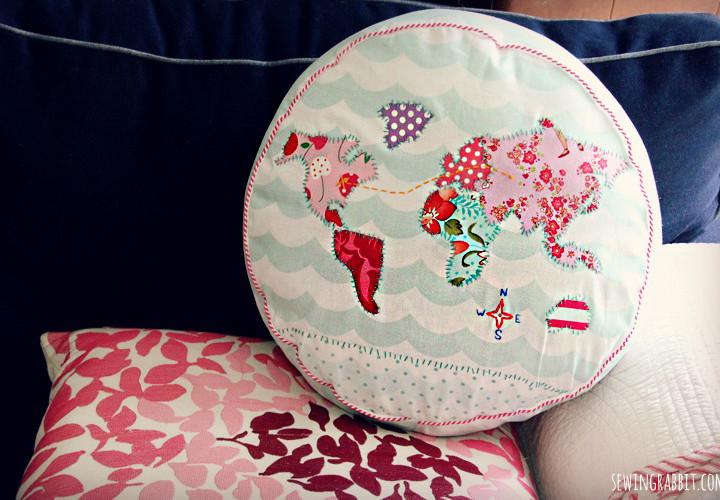Map Pillow - #SummerofJoann