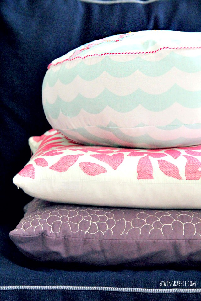 How to make a map pillow