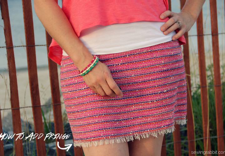 DIY Fringe Wool Mini - Style that Pattern