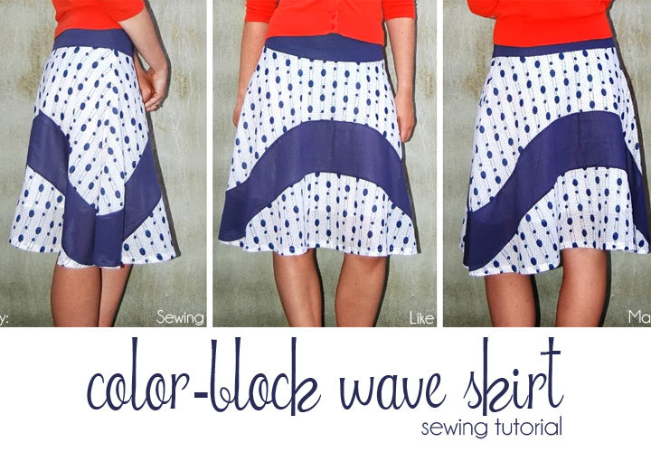 Wave Skirt - Women's Sewing Tutorial