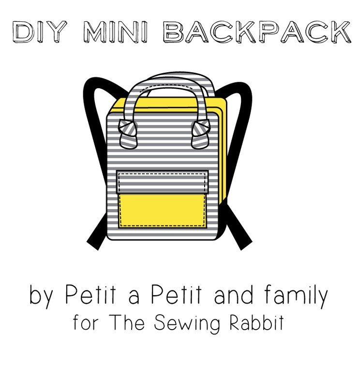 DIY mini backpack sewing tutorial