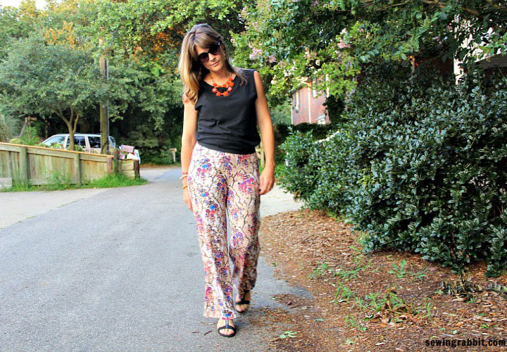 Easy Knit Pants DIY