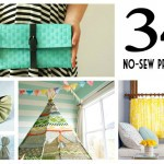 34 Awesome No Sew Projects