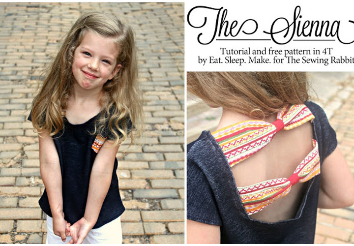 The Sienna Top, Free Sewing Pattern and Tutorial