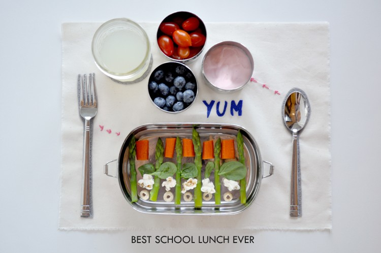 Best School Lunch by Curly Birds   ||   K.I.D.S. - Kids Inspiration & Design Series