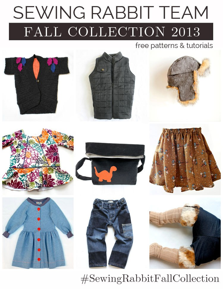 Fall Collection 2013 Premier - loaded with free patterns and tutorials, coming soon!   www.sewingrabbit.com
