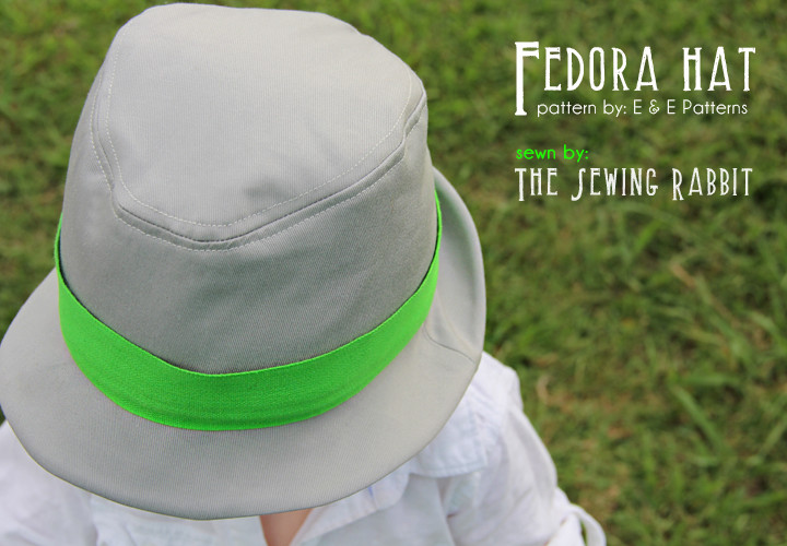 Fedora Hat Pattern