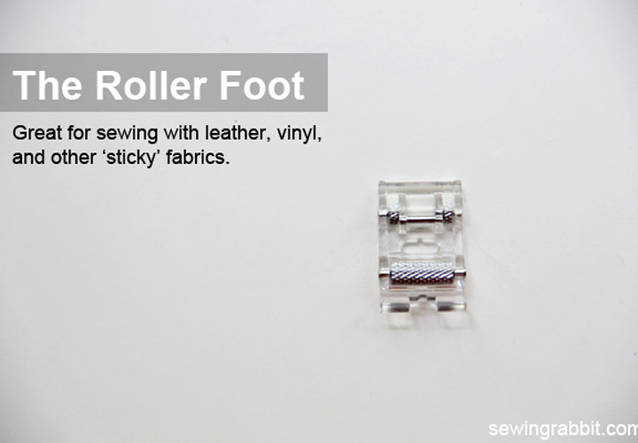 The Roller Foot - National Sewing Month