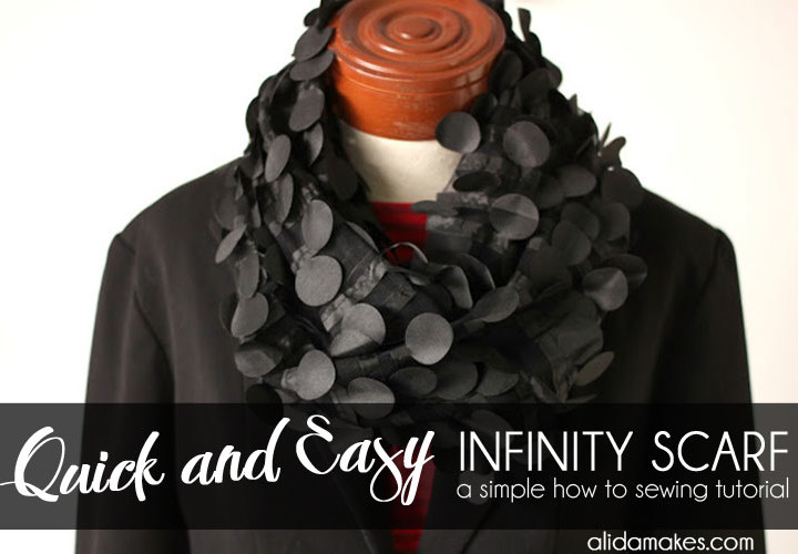 Quick and Easy Infinity Scarf