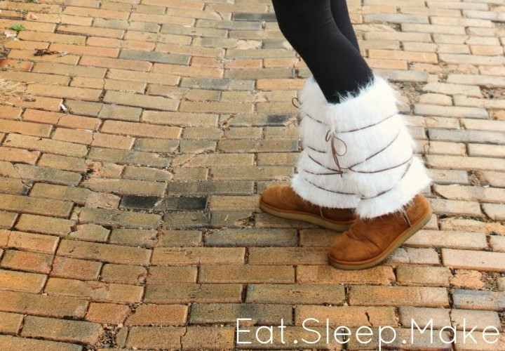 Women's Suede & Fur Boot Cover Ups - Sewing Tutorial