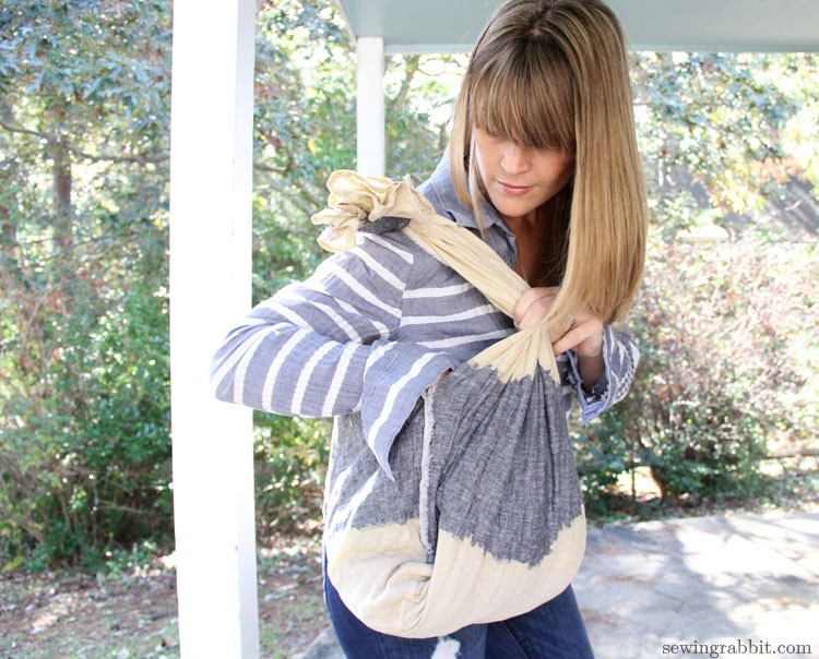 Hobo Bag DIY - 10 Things to do with a Scarf