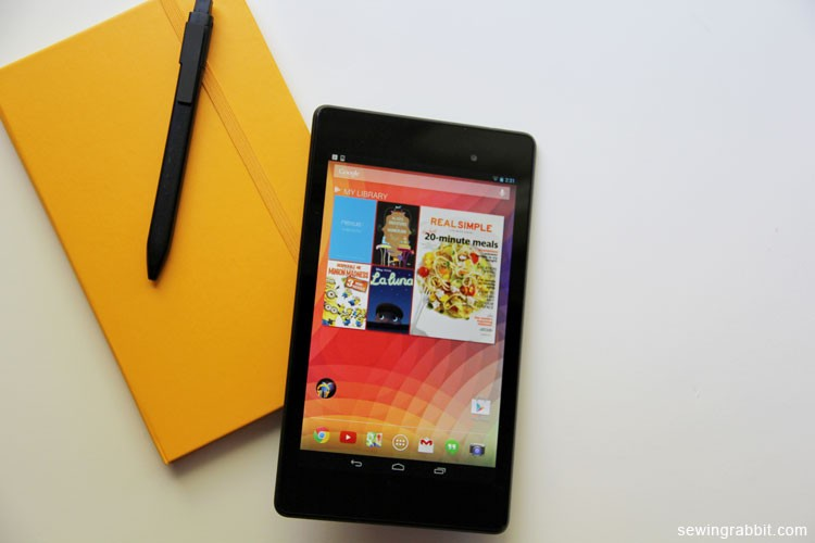 Nexus 7 Tablet & Moleskin Review