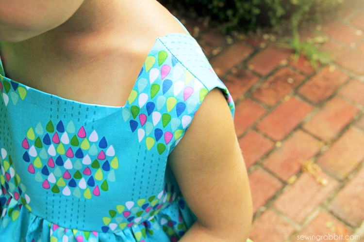 Sally Dress Pattern Review - The Sewing Rabbit