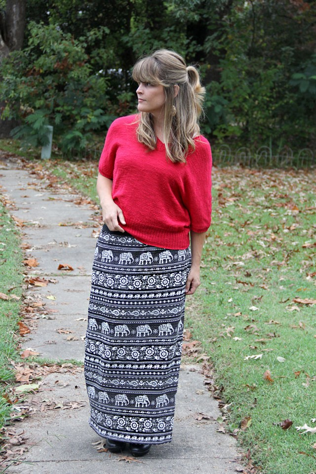 Easy Fall Maxi Skirt