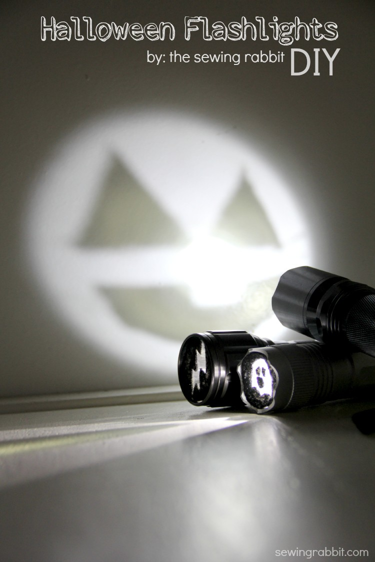 Halloween Flashlight DIY