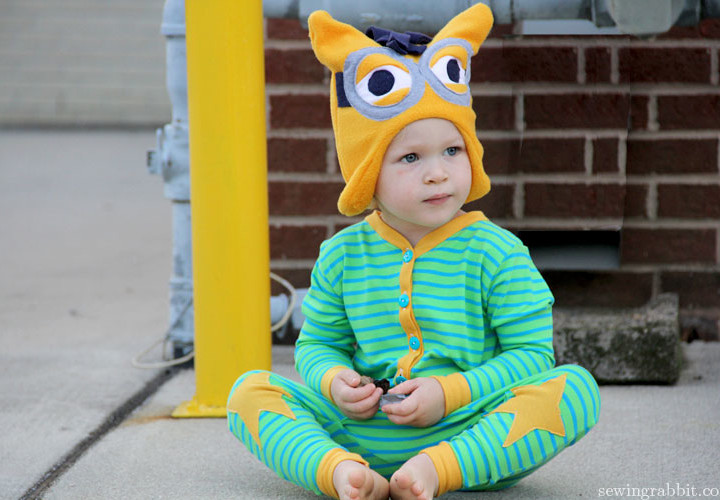 Self Drafted Star PJs & Minion Hat - KCW