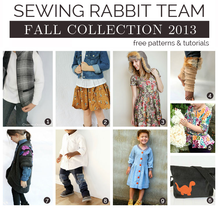Sewing Rabbit Fall Collection - DIY Wrap Up with Links