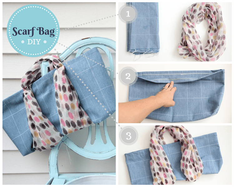 Scarf Bag - 10 Things to do with Scarves