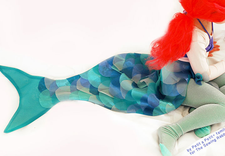 DIY Mermaid Costume - Video Tutorial