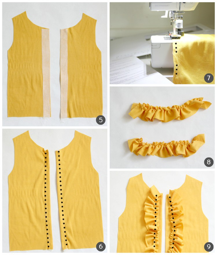 Yellow Cardi Tutorial 3