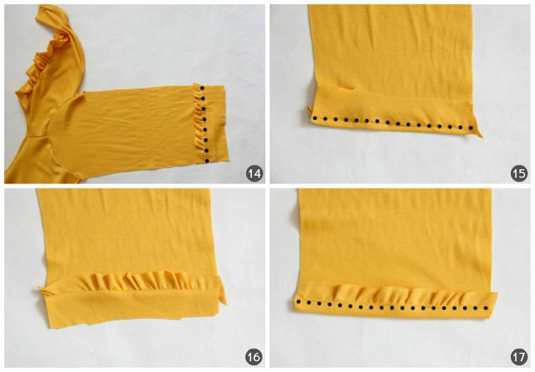 Yellow Cardi Tutorial 5
