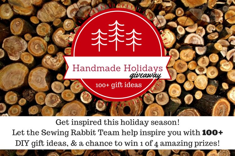 Handmade Holidays 100+ DIY Gift Ideas Round Up, and 4 prize giveaway