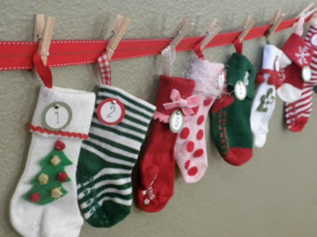 15 DIY Advent Calendars - The Sewing Rabbit