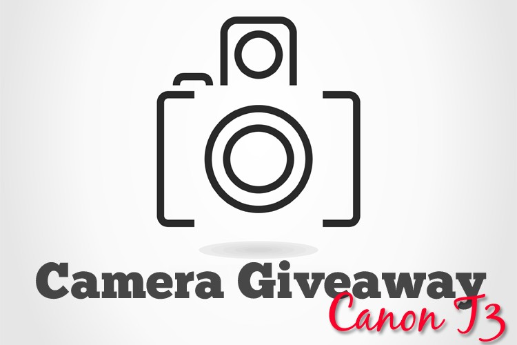 Camera Giveaway - Canon T3