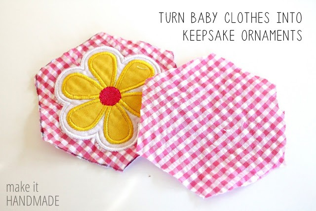 Turn Baby Clothes into Keepsake Ornaments