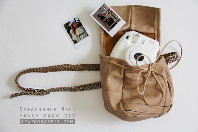 Detachable Belt Fanny Pack DIY