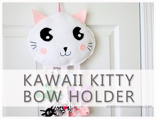 Kawaii Kitty Bow Holder