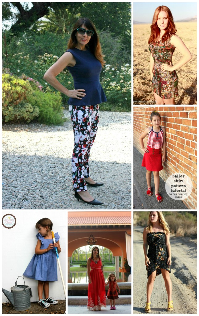 Sew Country Chick - Meet the 2014 Sewing Rabbit Team