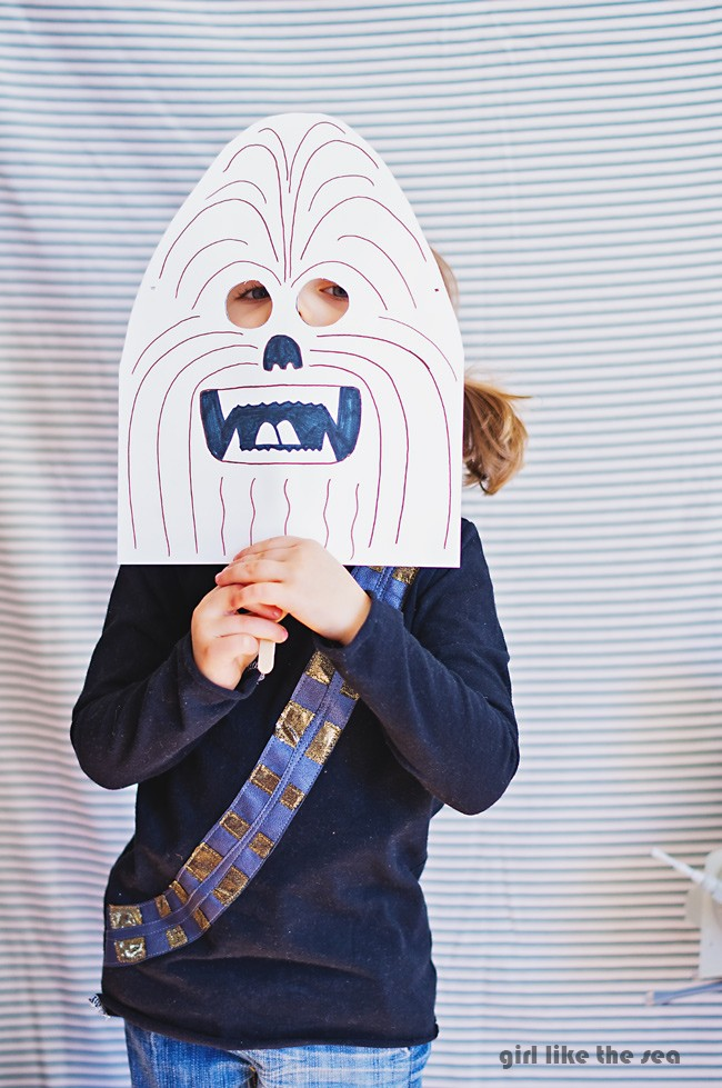 How to make a Chewbacca T Shirt - DIY