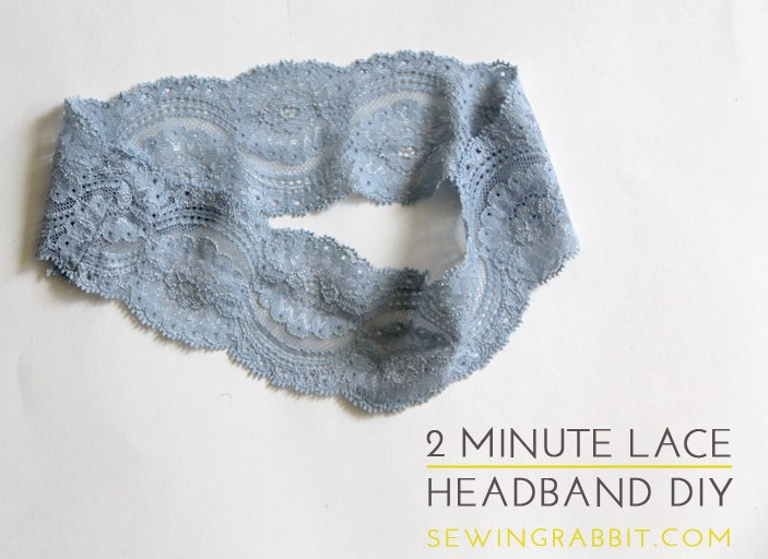 2 Minute Lace Headband