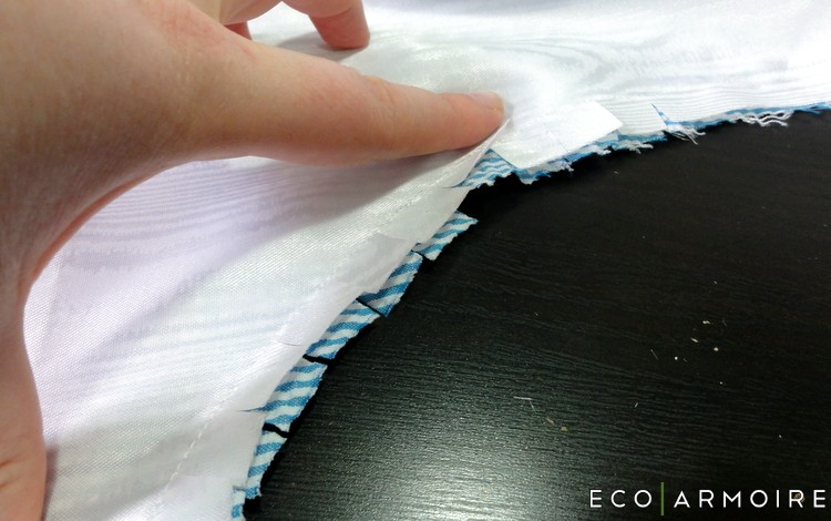 Slit Armhole - Men's Vest Tutorial EcoArmoire