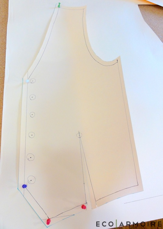 Fusing Pattern - Men's Vest Tutorial EcoArmoire