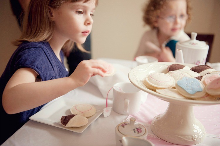 Tea Party Collection, the Sewing Loft
