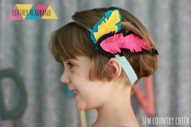 Feather Headband DIY