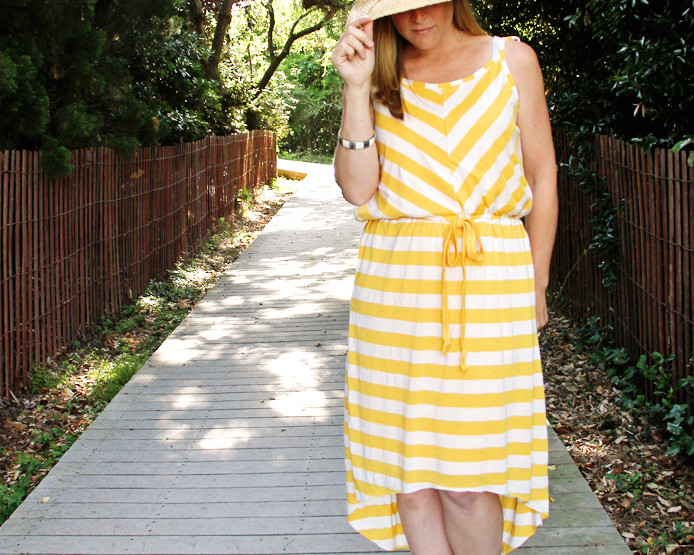 How to Sew an Easy Lined Knit Sundress