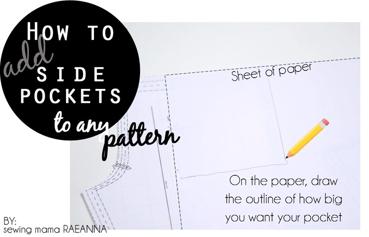 How to add Side Pockets to any Pattern