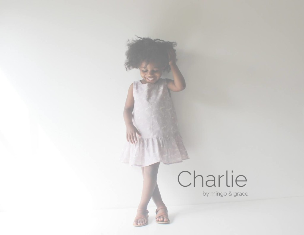The Charlie Dress - a brand new pattern by Mingo & Grace