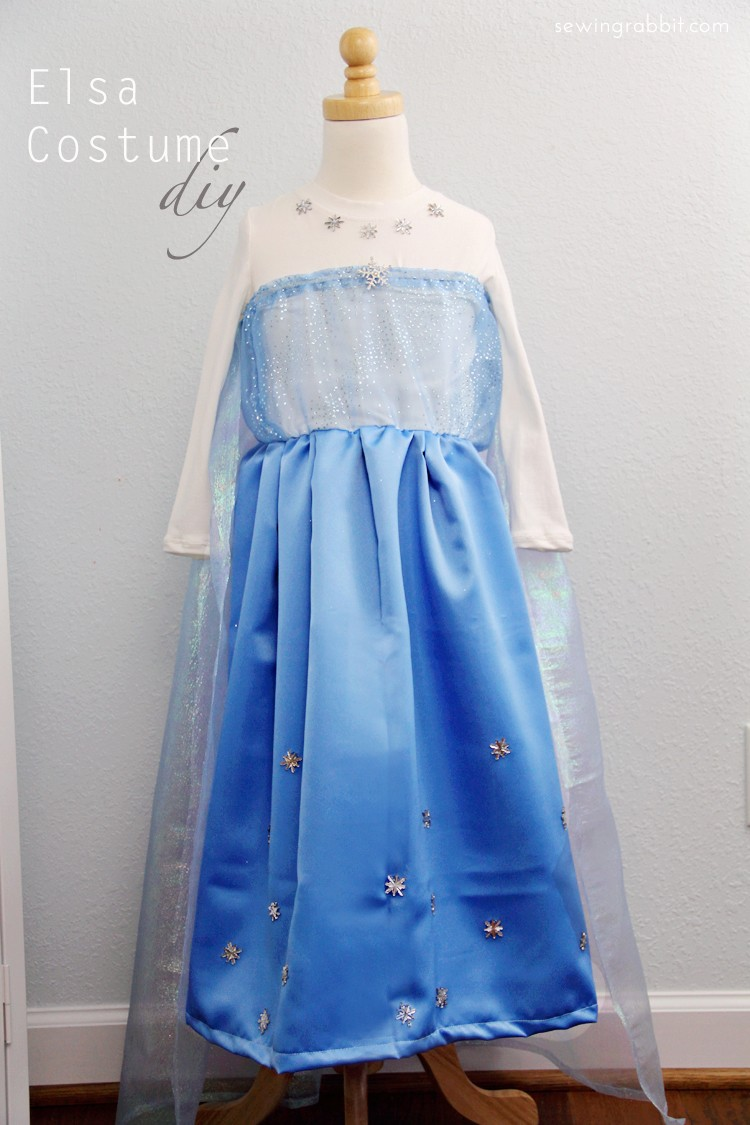 How to Sew an Elsa Costume 2
