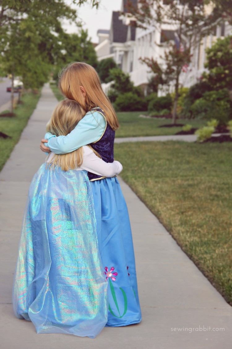 Elsa and Anna Dress DIY